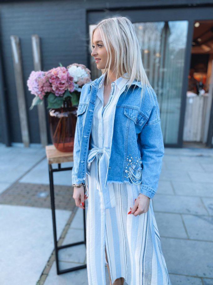 Jeans vestje fantasie.
