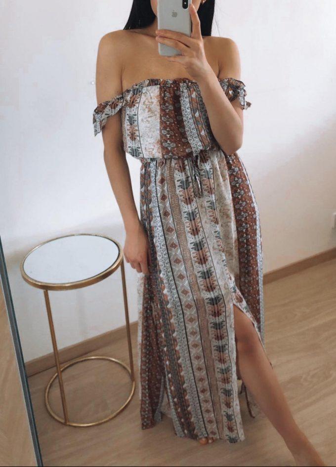 Maya maxi dress.