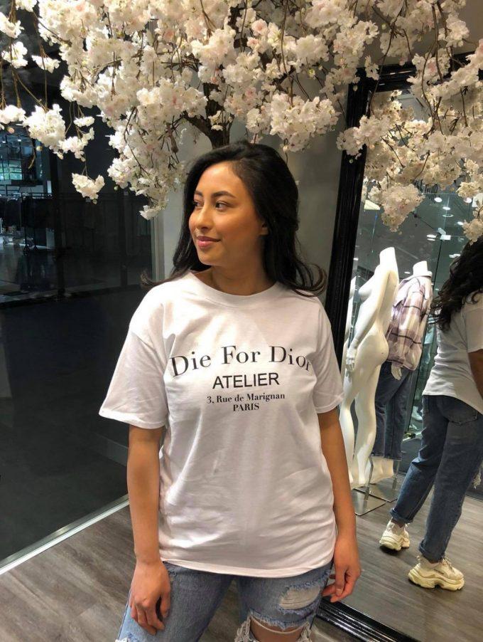 T-shirt DIOR.