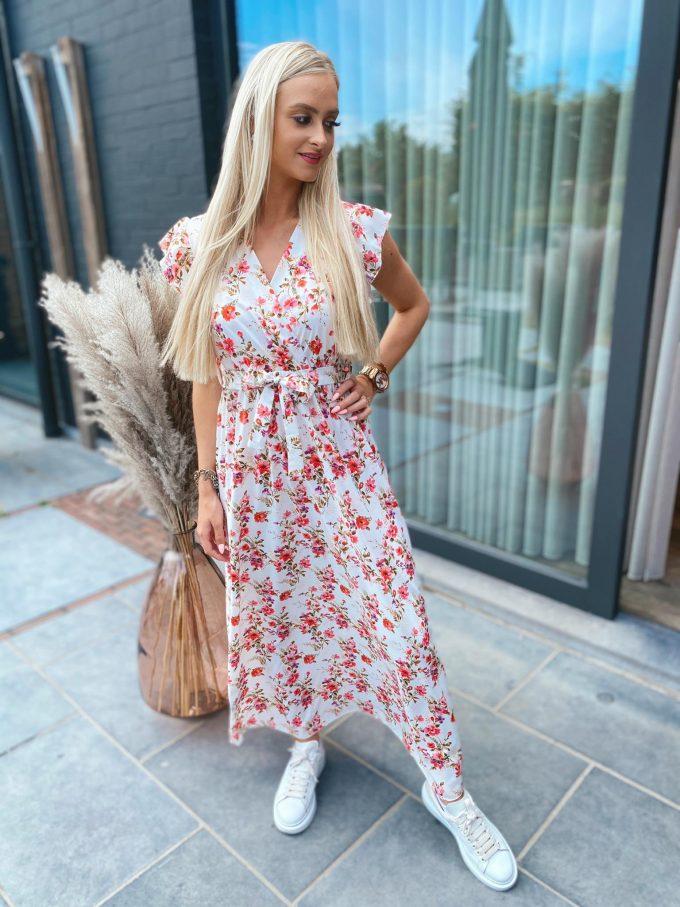 Bloemenkleed lang.
