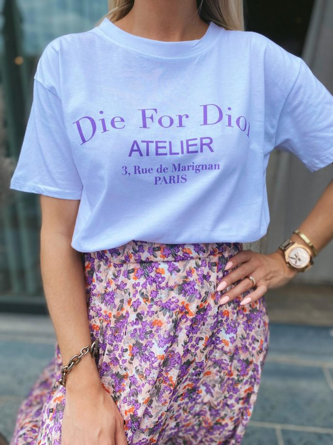 T-shirt DIE FOR DIOR.