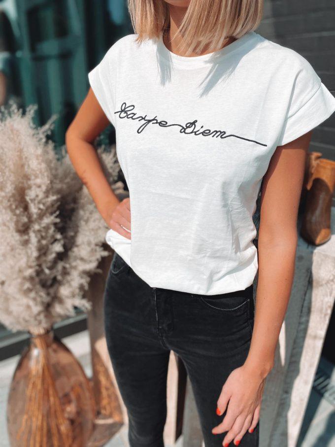 T-shirt Carpe Diem.