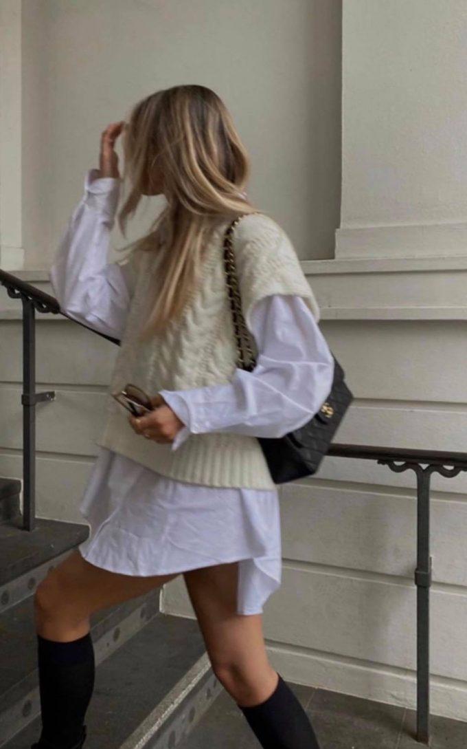 Oversized hemd/kleedje.