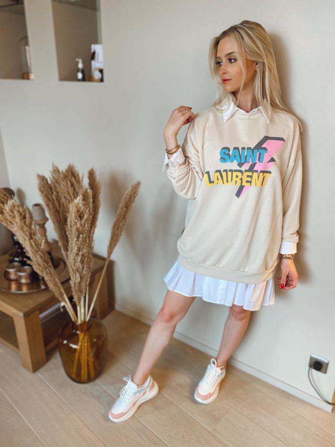 Sweater Saint Laurent.