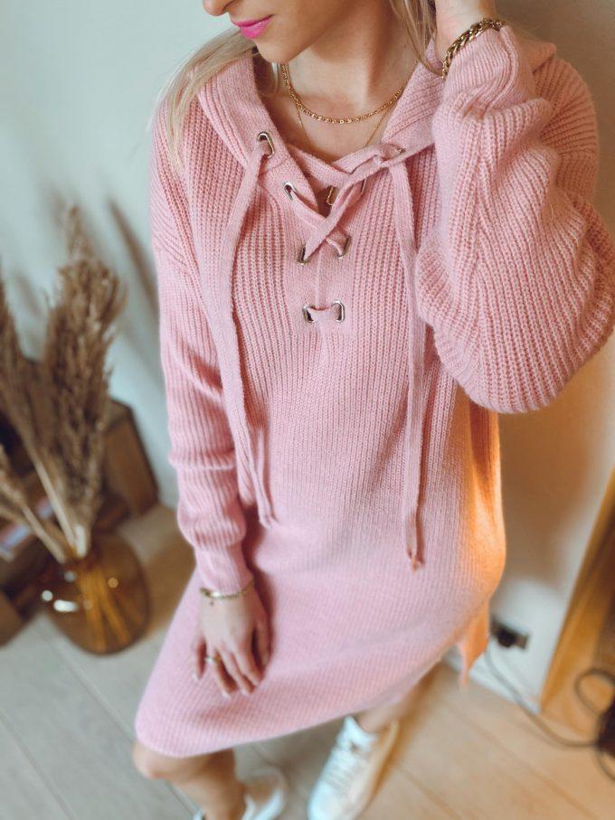 Sweater dress cap.