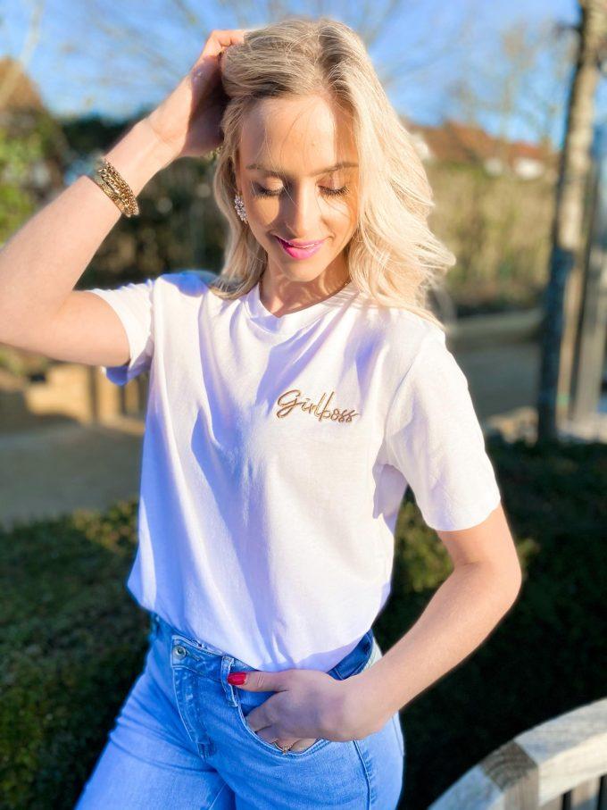 T-shirt GIRLBOSS.