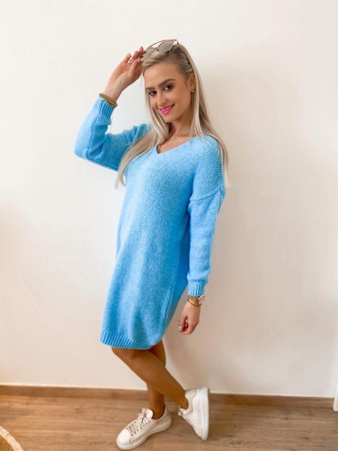Sweater dress.