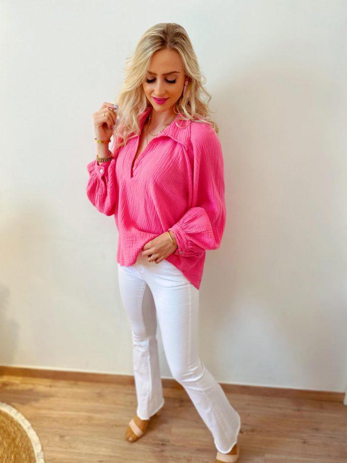 Tetra bloes roze.