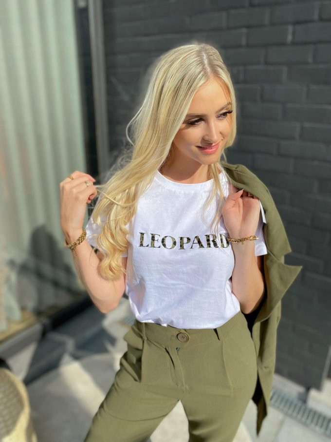 T-shirt LEOPARD.